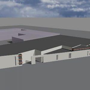 Nieuwbouw productiehal met kantoren in Twente