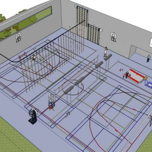 Nieuwbouw Sportaccommodatie Lemelerveld